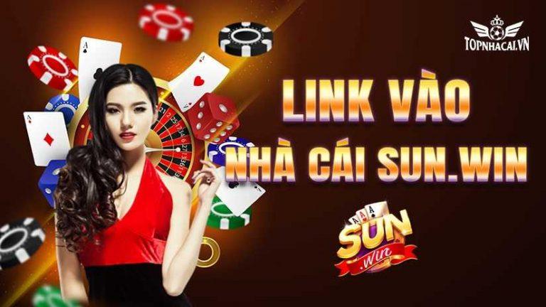 Hướng dẫn cách vào link vào Sunwin